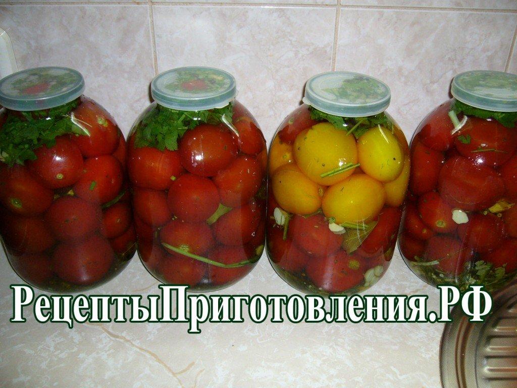 Рецепт зеленых помидор бочковых с фото