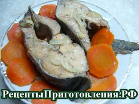 Приготовления рыбы горбуши в духовке с фото