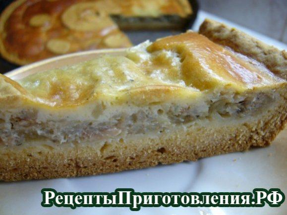 Картошка с рыбной консервой в духовке рецепт