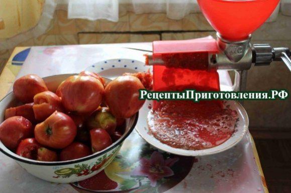 Томатный сок на зиму рецепты пошагово