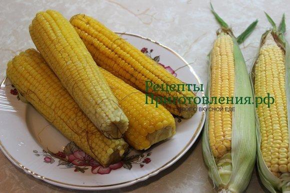 Кукуруза в початках на зиму в домашних условиях заморозка 558