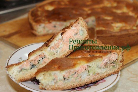 Пирог с горбушей рецепт с фото пошагово