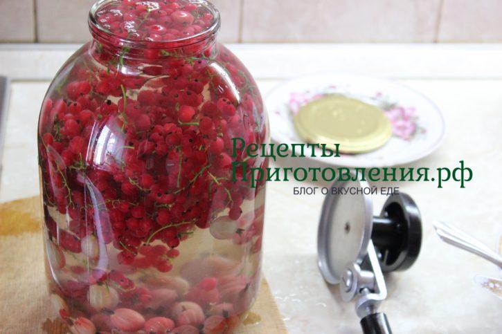 Повидло из красной смородины рецепт с фото