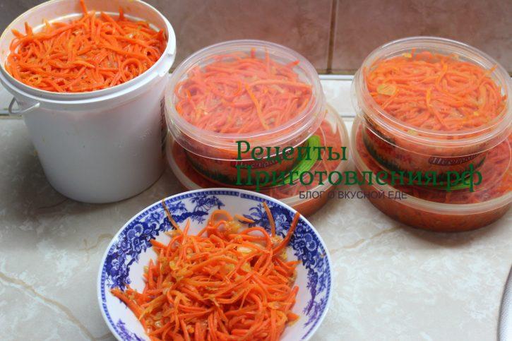 Морковь по-корейски с огурцами в домашних условиях рецепт фото